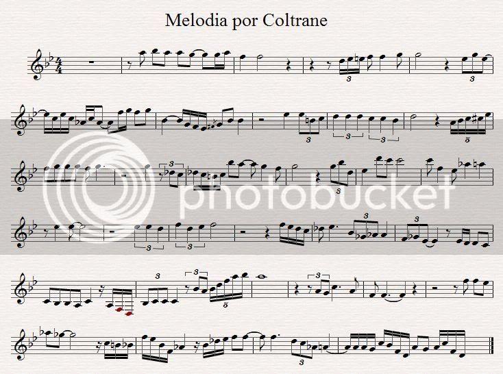 Coltrane Melody
