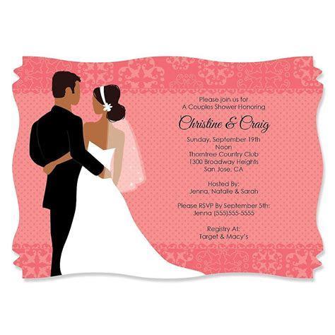 free printable couples wedding shower invitations
