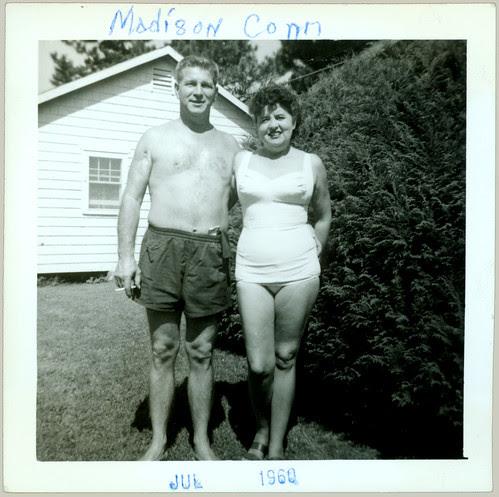 Couple in Swim wear