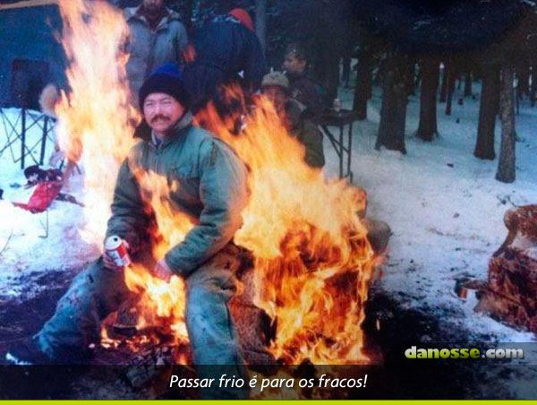Frio nunca mais!