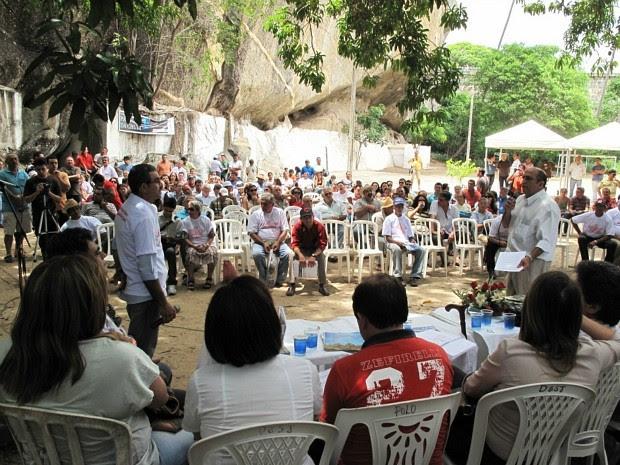 Quixadá sedia anualmente o encontro dos chamados profetas da chuva. (Foto: Alex Pimentel/Agência Diário)