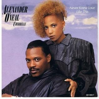 Alexander O Neal Never Knew Love Like This Lyrics