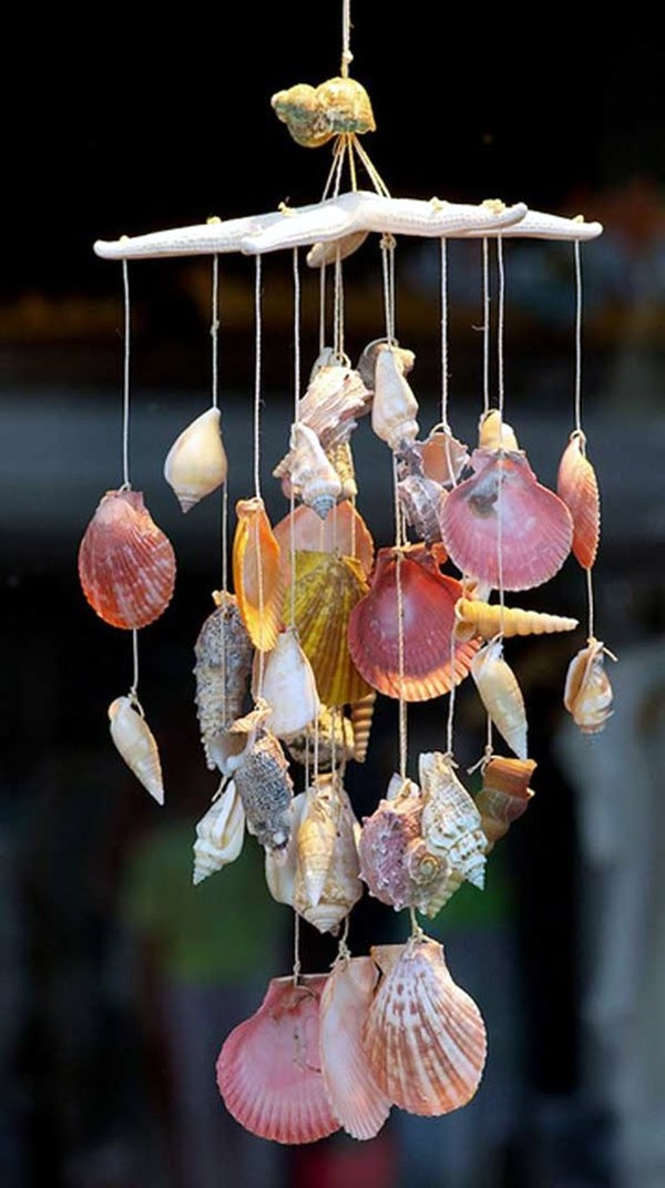 DIY Wind Chime Ideas to Try This Summer (41)