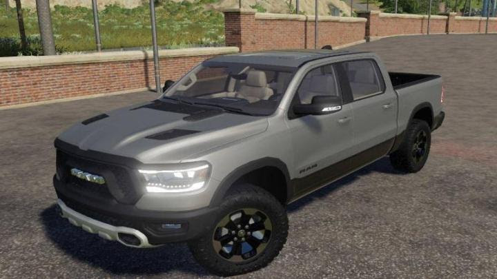 Fs19 Dodge Ram 1500 Rebel V1 Simulator Games Mods Download