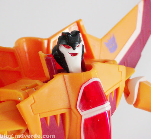 Transformers Sunstorm Animated Voyager - modo robot