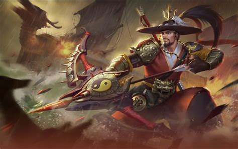 ml wallpaper yi sun shin mobile legends wallpaper hd