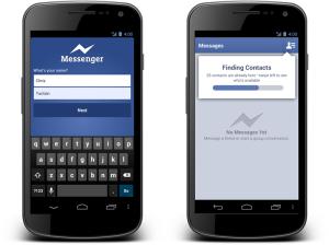 Móvel Facebook Messenger