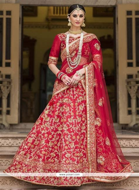 Buy Auspicious Lehenga Saree For Reception   Wedding Sarees