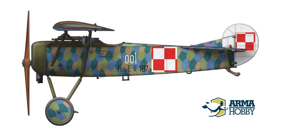 Fokker E.V nr 001
