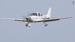 The FAA reported that the plane that crashed was a Cirrus SR 22 similar to this one.