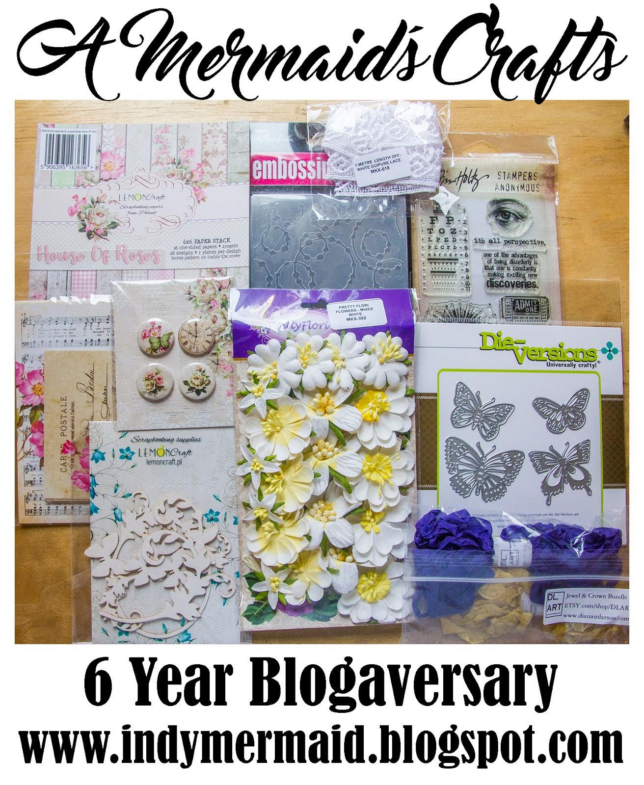 A Mermaid's Craft 6th Blogaversary