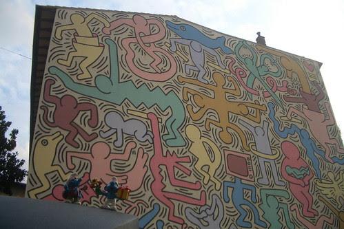 murales di Keith Haring - tuttomondo