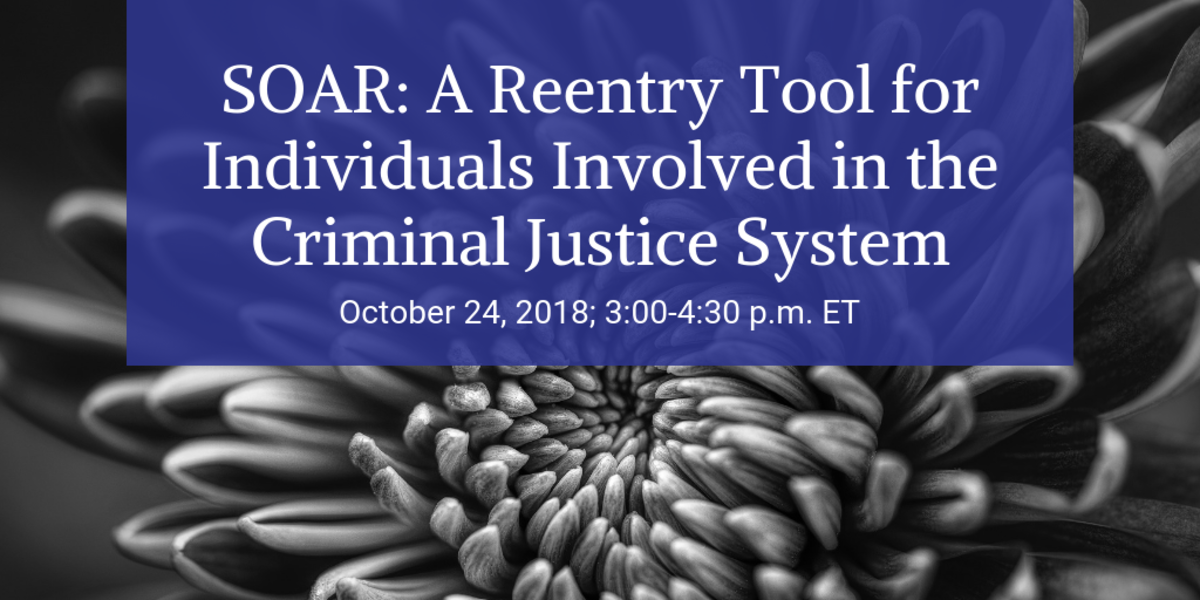 SOAR: A Reentry Tool for Individuals Involved in the Criminal Justice System