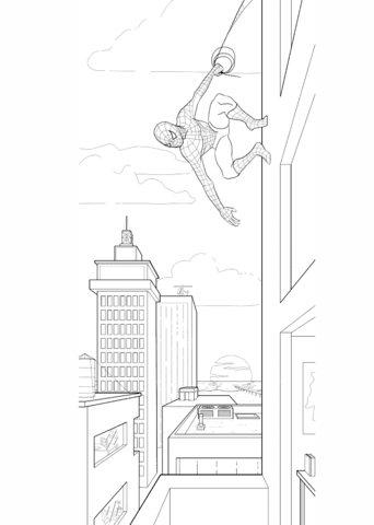 8100 Top Coloring Pages Of Spiderman Printable Pictures