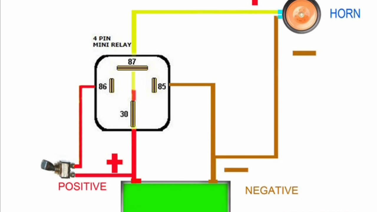 Wiring Diagram Horn Relay Home Wiring Diagram