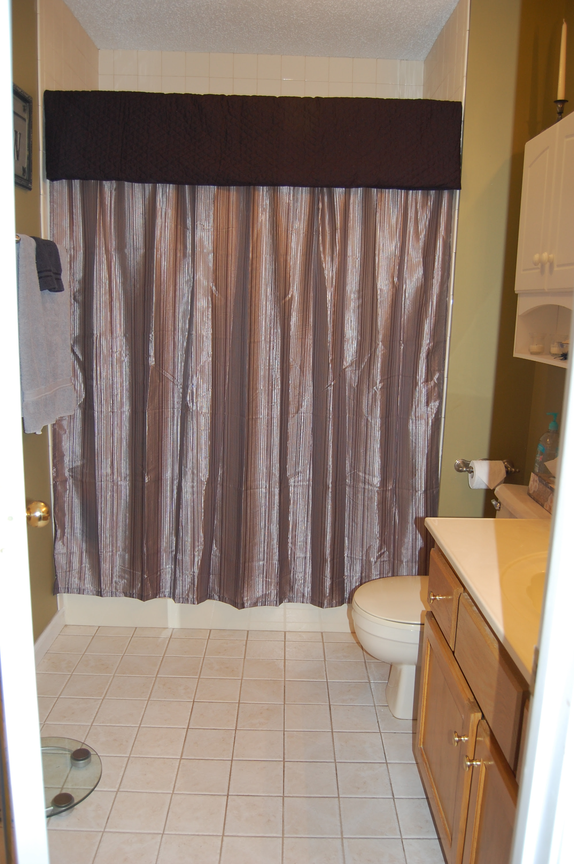 Shower Curtains With Valance Home Design