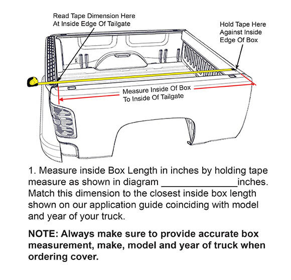 Truck Bed Size Chart >> Pickup Truck Bed Dimensions Chart | Roole