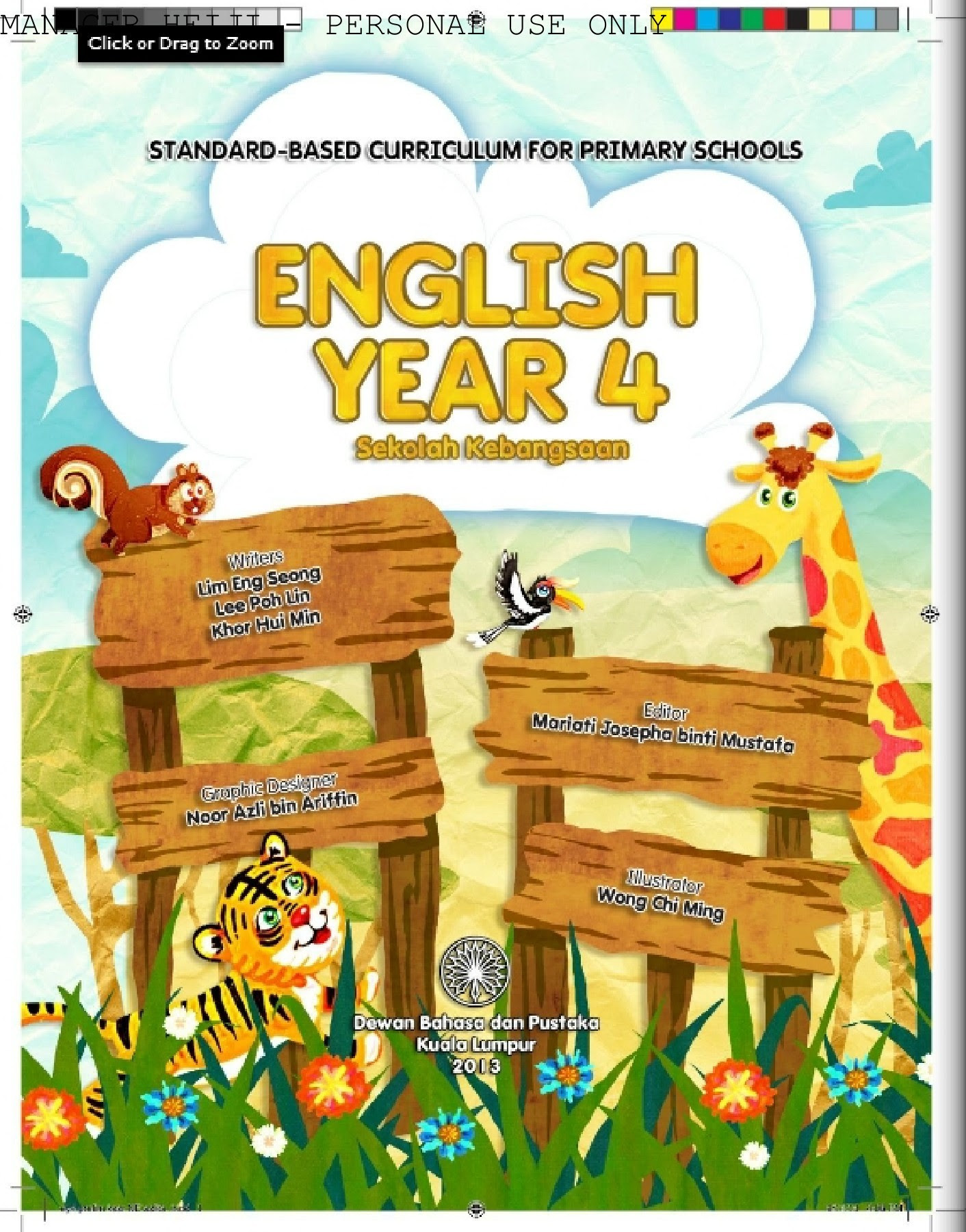English Textbook Year 4