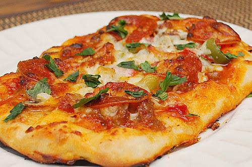 DIY Homemade Pizza Night