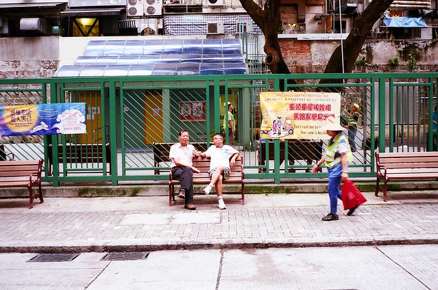 Taking a Break in Sheung Wan