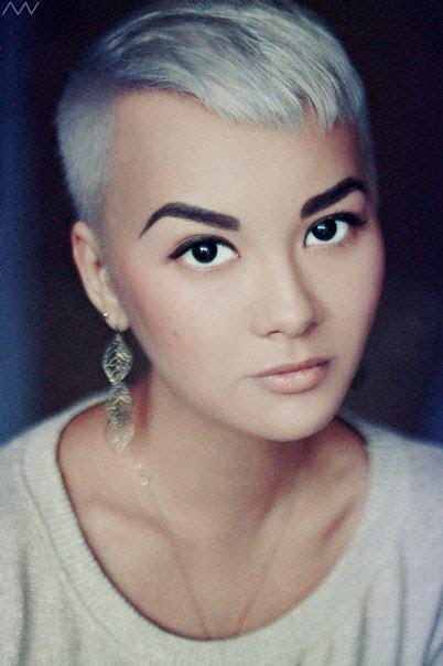 short silver pixie haircut   styles