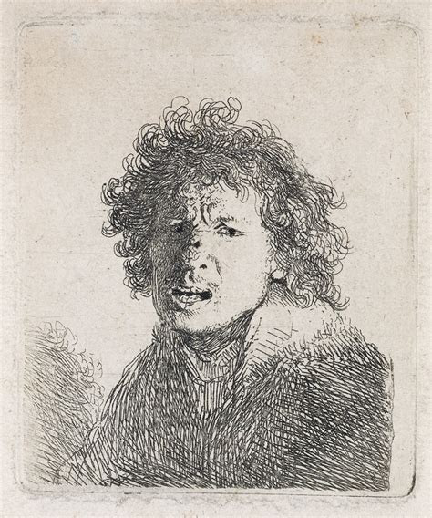 rembrandts  portraiture  etchings swann galleries