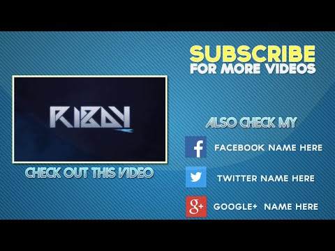 """Songs in """"COOL Free 2D Outro Template   After Effects Outro ..."""