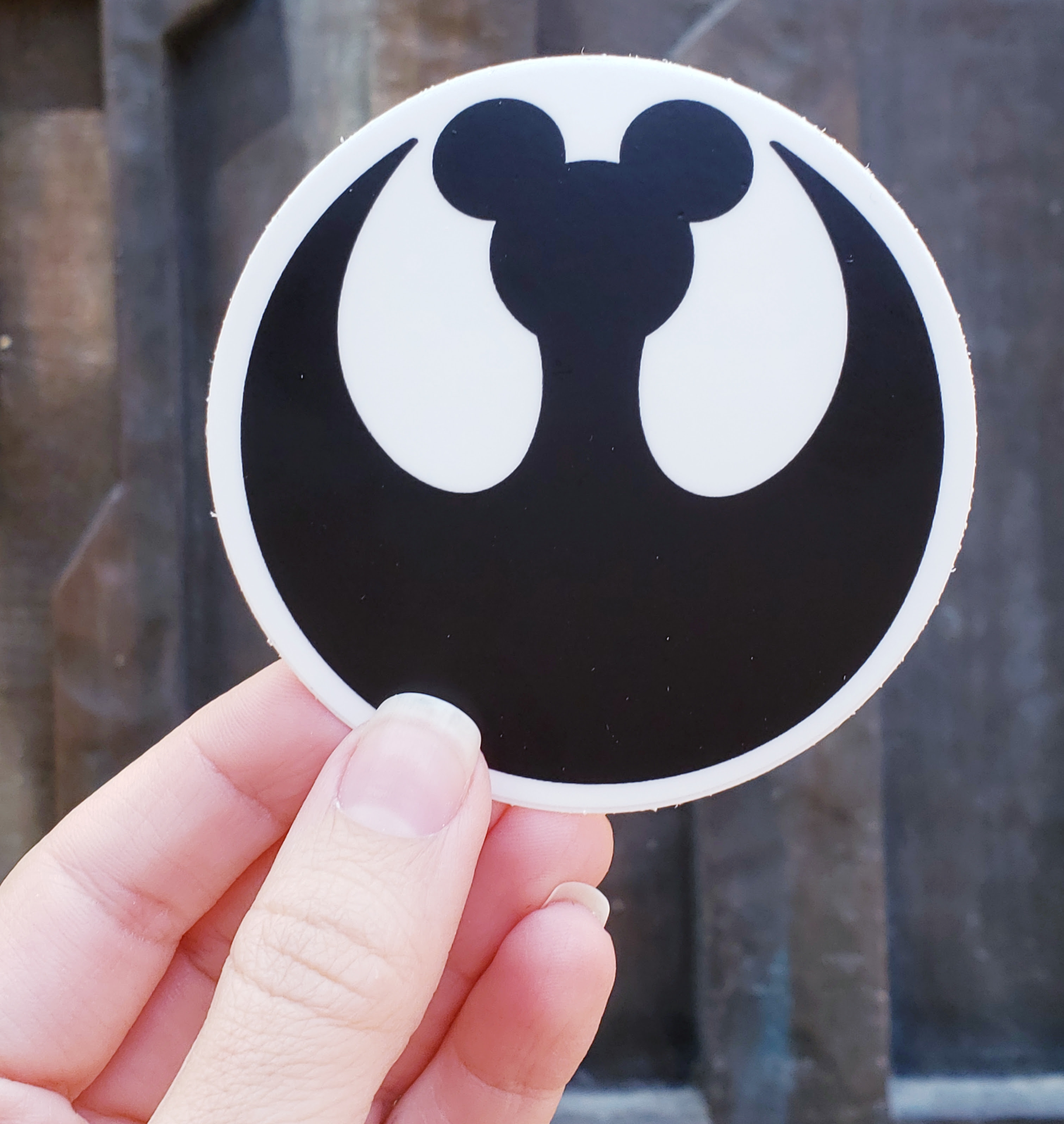 D23 Expo: Rebel Mouse Sticker | Anakin and His Angel