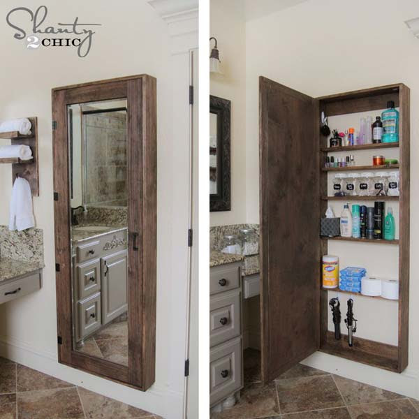 31 Amazingly DIY Small Bathroom Storage Hacks Help You ...