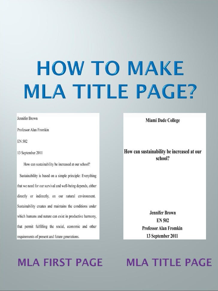 how to write an essay in mla