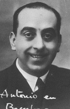 José Antonio Balbontín en 1935