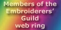 Members of the Embroiderers' Guild web ring