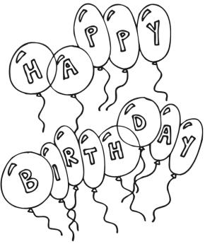 Birthdays : Happy Birthday Boy Coloring Page, Happy ...