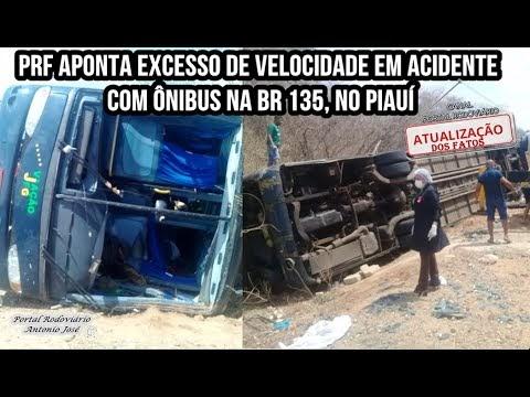 Crianças de Águas Lindas morrem em acidente na BR 135 no Piauí