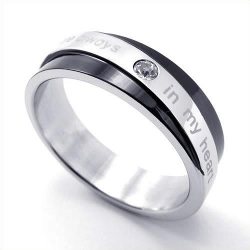 konov bijoux bague homme amour fian ailles mariage alliance acier inoxydable anneaux. Black Bedroom Furniture Sets. Home Design Ideas