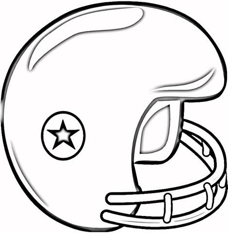 Dibujo De Casco De Fútbol Americano Para Colorear Dibujos Para