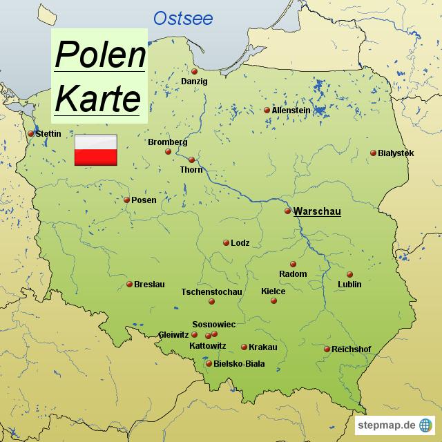 Karte Ostseeküste Polen.Top 10 Punto Medio Noticias Polen Deutsche Namen Karte
