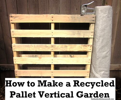 Garden Ideas Using Pallets Country Homes