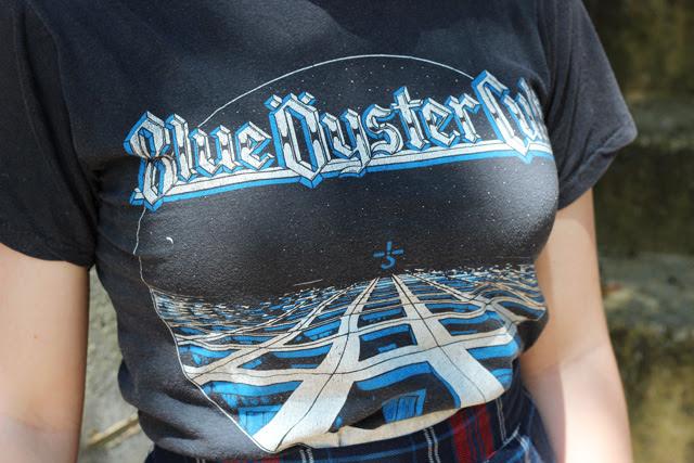 Vintage 70s Blue Oyster Cult Tshirt
