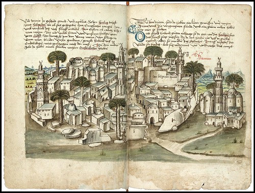 Konrad von Grünenberg - Beschreibung der Reise von Konstanz nach Jerusalem 1487 f