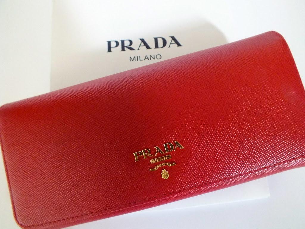 Red Prada Purse