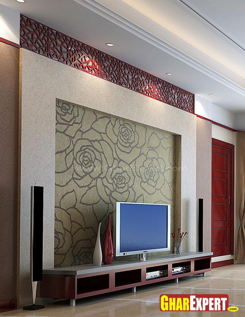 Lcd Unit Design Modern Tv: Modern Pop Design For Lcd Tv Wall Unit