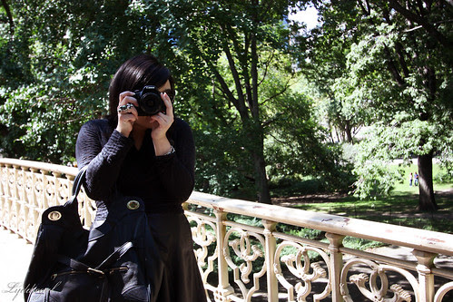 Alex in central park