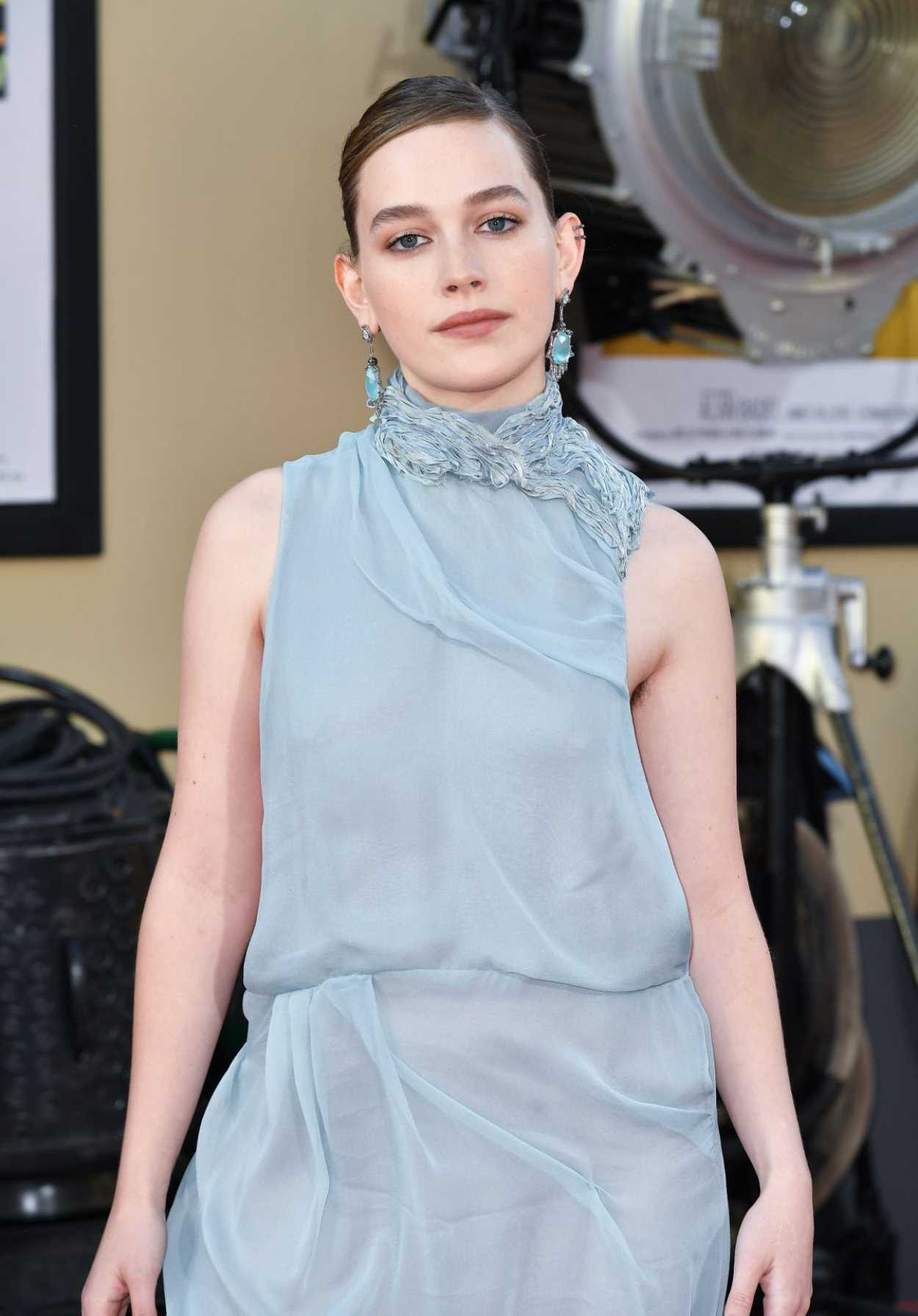 Victoria Pedretti Attends Once Upon A Time in Hollywood Premiere in LA 07/22/2019 – celebsla.com