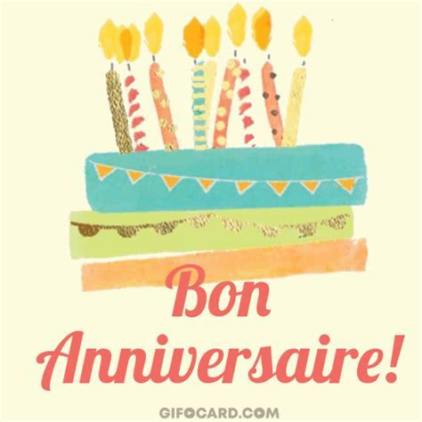 How to say or write Happy Birthday in French