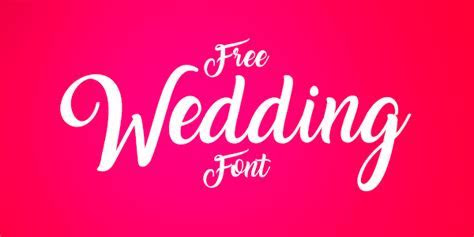 10 Best Free Script Calligraphy Fonts 2017 For Wedding