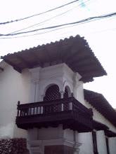 Balcón Virreynal en Cusco-Perú