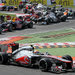 McLaren, Mercedes and Lotus still are battling for second place in the teams' championship, and the bottom three  teams - Williams, Marussia and Caterham - are  fighting it out for 10th place.