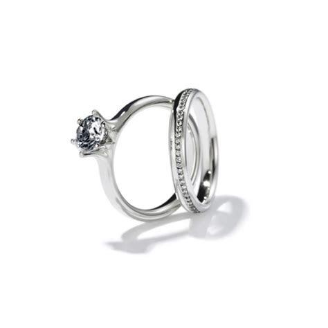 Henrich & Denzel   Platinum & Diamond Diva Engagement Ring
