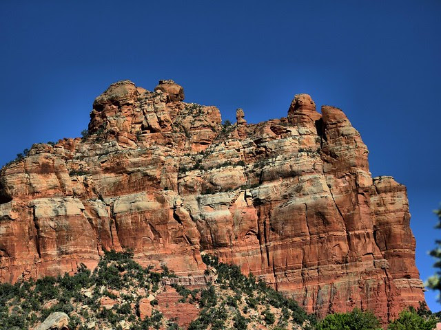 Sedona rock formation HDR 20130616